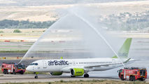 Air Baltic flies again to Madrid after 7-years absence title=