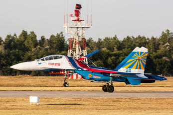 "20 - Russia - Air Force ""Russian Knights"" Sukhoi Su-27"