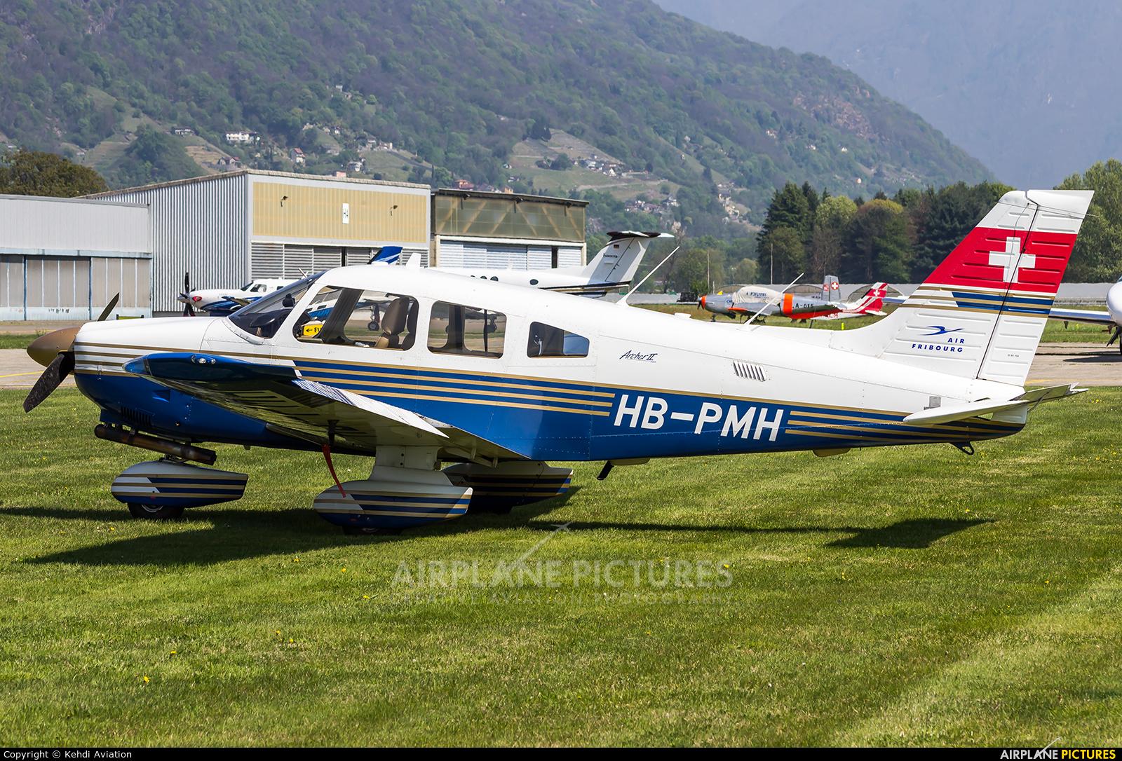 Private HB-PMH aircraft at Locarno