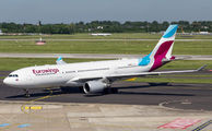 Rare visit of Eurowings A332 to Dusseldorf title=
