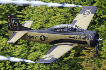 OE-ESA - Red Bull North American T-28B Trojan