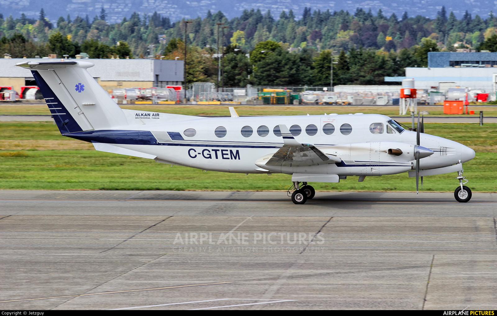 Alkan Air C-GTEM aircraft at Vancouver Intl, BC
