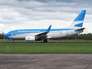 LV-CYO - Aerolineas Argentinas Boeing 737-700