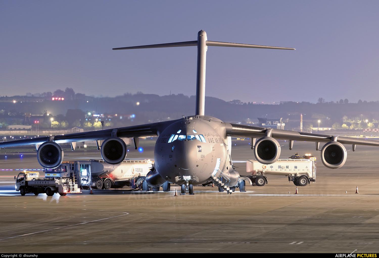 United Arab Emirates - Air Force 1224 aircraft at Dalian Zhoushuizi Int'l
