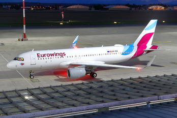 OE-IQA - Eurowings Europe Airbus A320