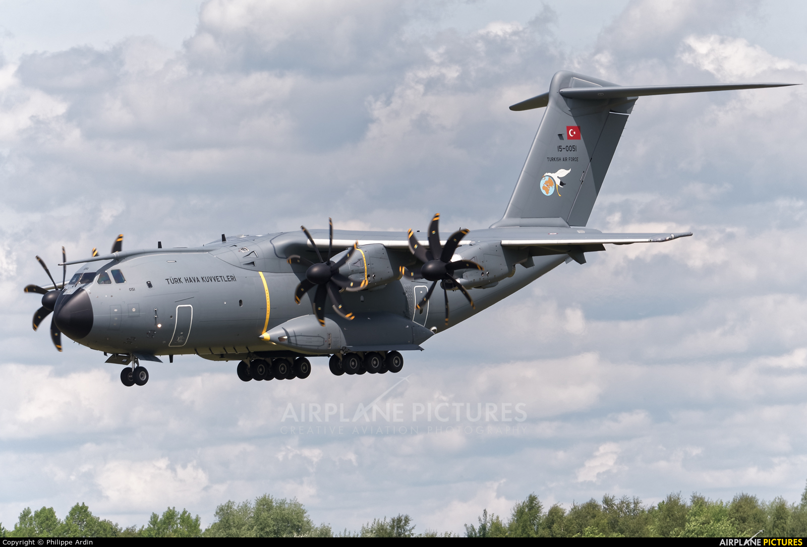 Turkey - Air Force 15-0051 aircraft at Luxembourg - Findel