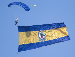 - - The Tigers Parachute Display Team Parachute Military