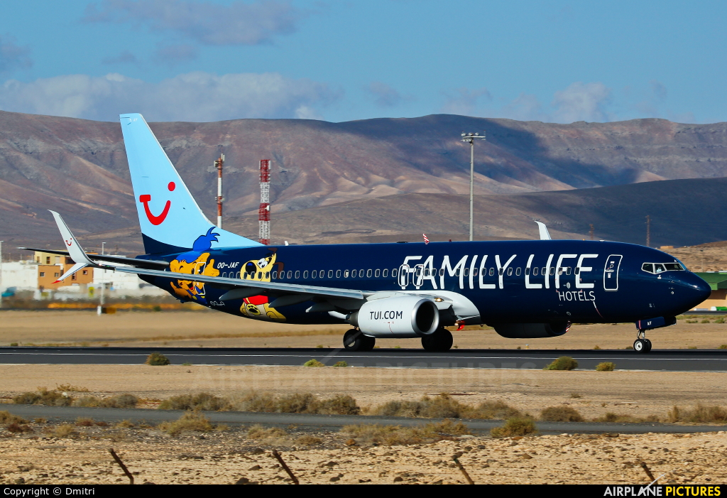 Jetairfly (TUI Airlines Belgium) OO-JAF aircraft at Fuerteventura - Puerto del Rosario