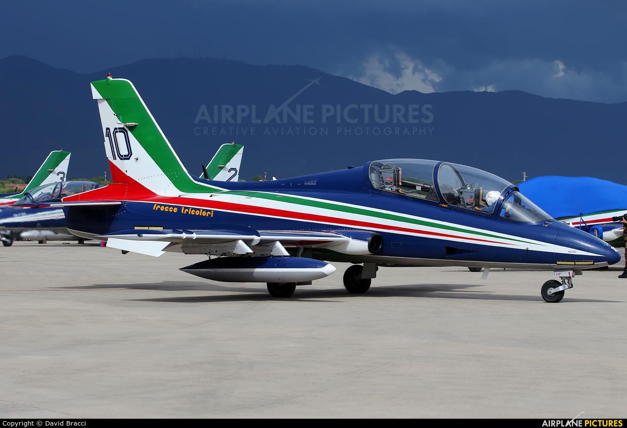 "Italy - Air Force ""Frecce Tricolori"" MM54510 aircraft at Pisa - San Giusto"
