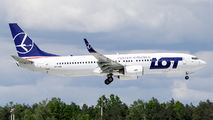 First visit of LOT B738 to Rzeszow title=