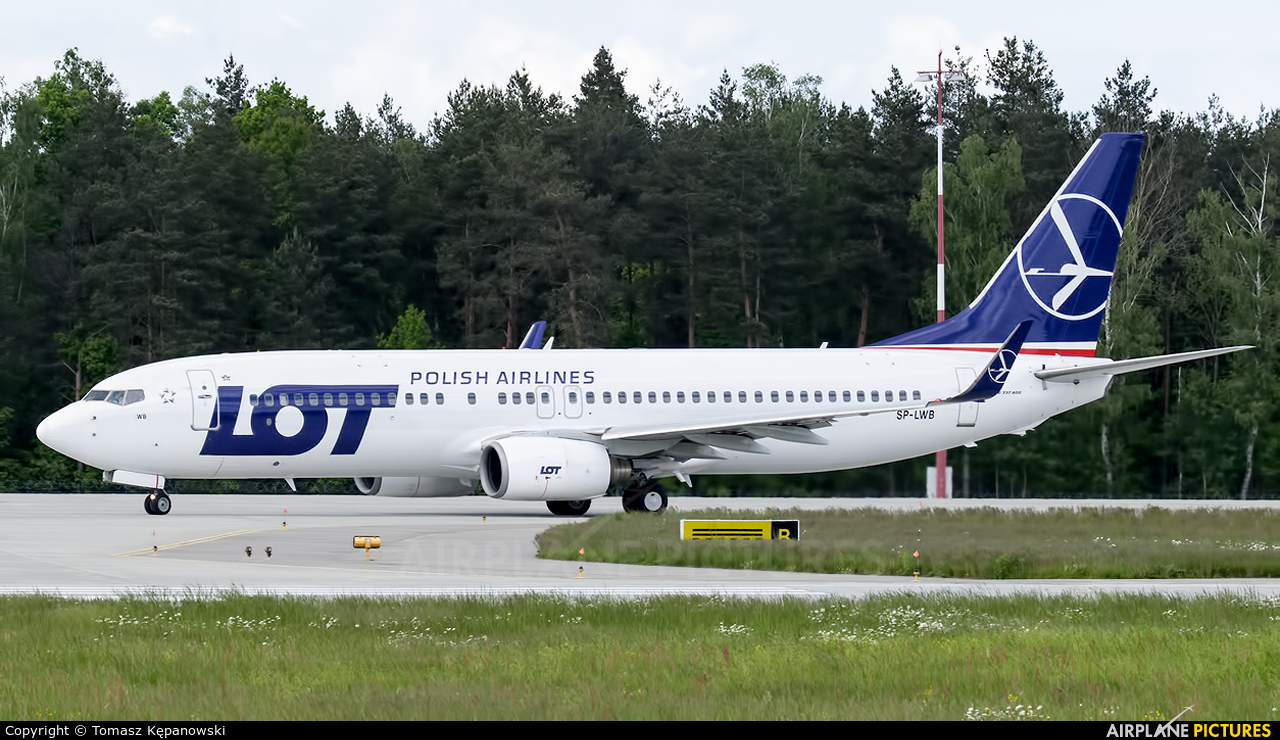 LOT - Polish Airlines SP-LWB aircraft at Rzeszów-Jasionka