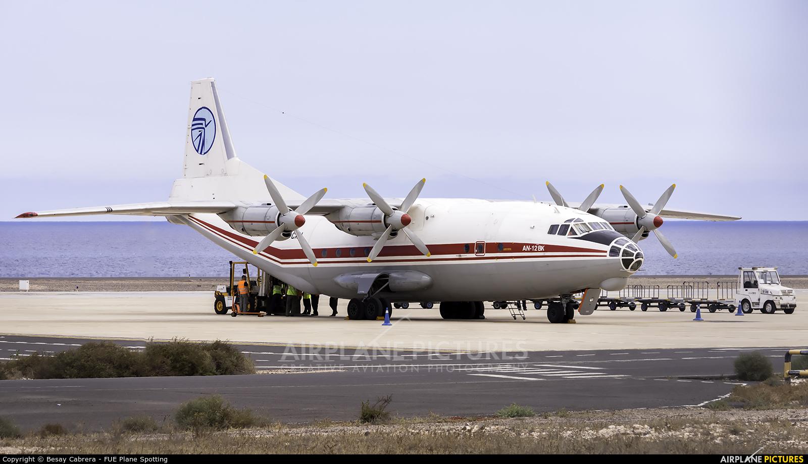 Ukraine Air Alliance UR-CAH aircraft at Fuerteventura - Puerto del Rosario