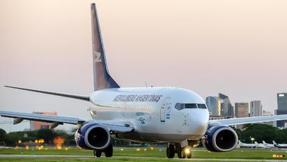 LV-GOO - Aerolineas Argentinas Boeing 737-700
