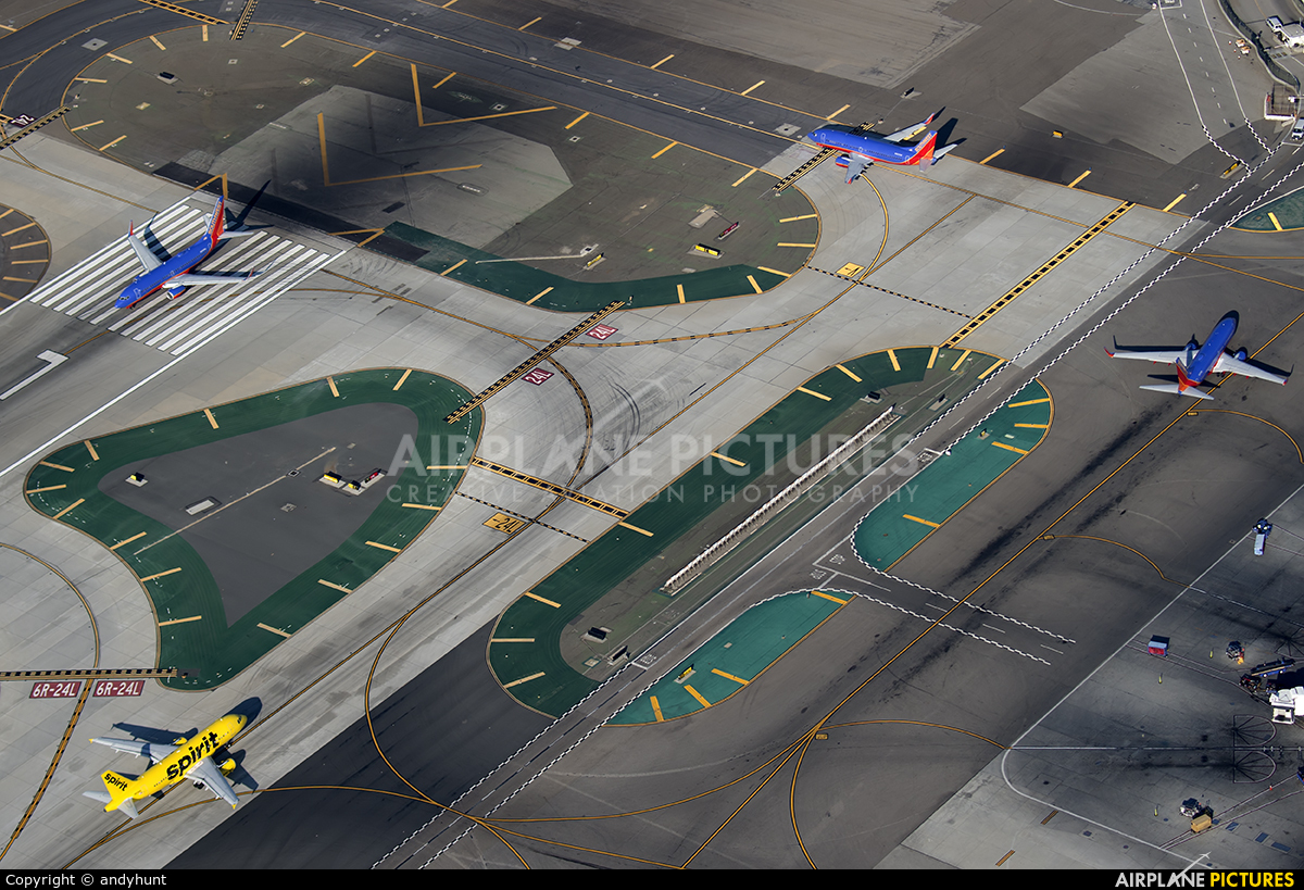 Spirit Airlines N534NK aircraft at Los Angeles Intl