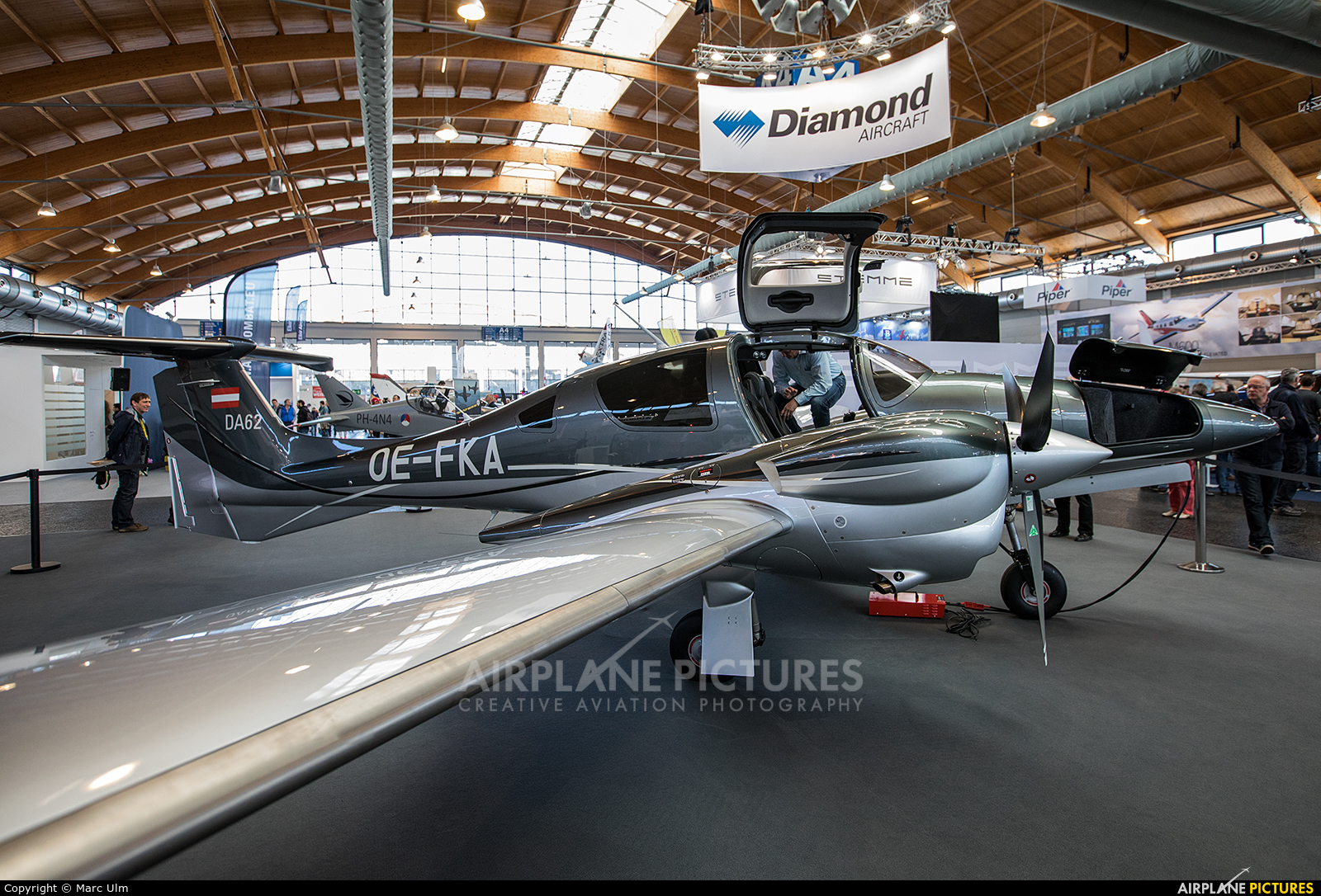 Private OE-FKA aircraft at Friedrichshafen