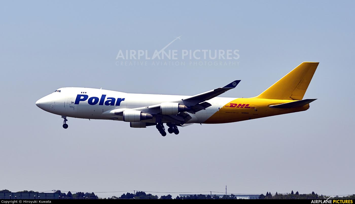 Polar Air Cargo N498MC aircraft at Tokyo - Narita Intl