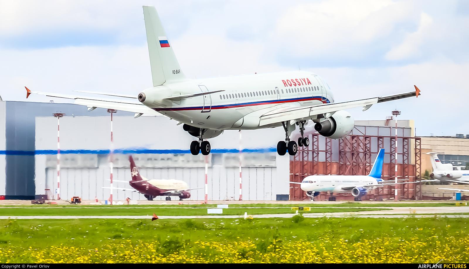 Rossiya VQ-BAR aircraft at Moscow - Vnukovo