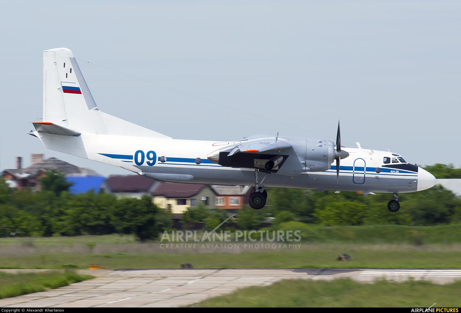 Russia - Air Force 09 aircraft at Krasnodar Tsentralny