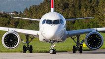 HB-JBG - Swiss Bombardier CS100 aircraft