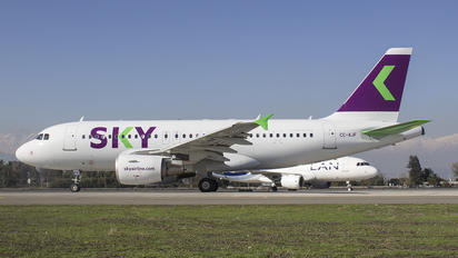 CC-AJF - Sky Airlines (Chile) Airbus A319