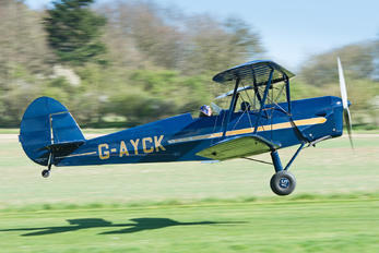 G-AYCK - Private Stampe SV4