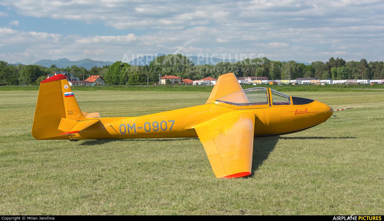 Aeroklub Prievidza OM-0907 aircraft at Prievidza