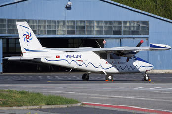 HB-LUN - Swiss Flight Services Partenavia P.68