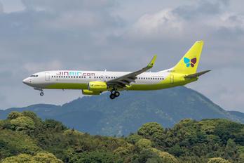 HL8017 - Jin Air Boeing 737-800