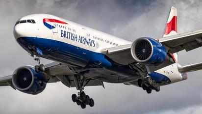 G-VIIE - British Airways Boeing 777-200