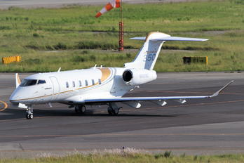 N501BZ - Private Bombardier BD-100 Challenger 300 series