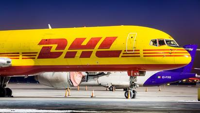 G-BIKB - DHL Cargo Boeing 757-200F