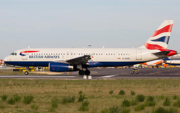G-EUUO - British Airways Airbus A320