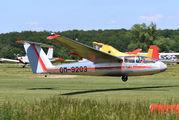 OM-9203 - Očovskí bačovia Team LET L-23 Superblaník aircraft