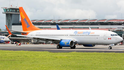 C-FJVE - Sunwing Airlines Boeing 737-800