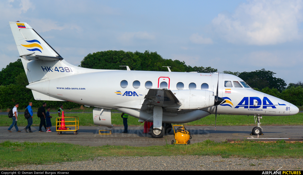 ADA Aerolinea de Antioquia HK-4381 aircraft at Off Airport - Colombia