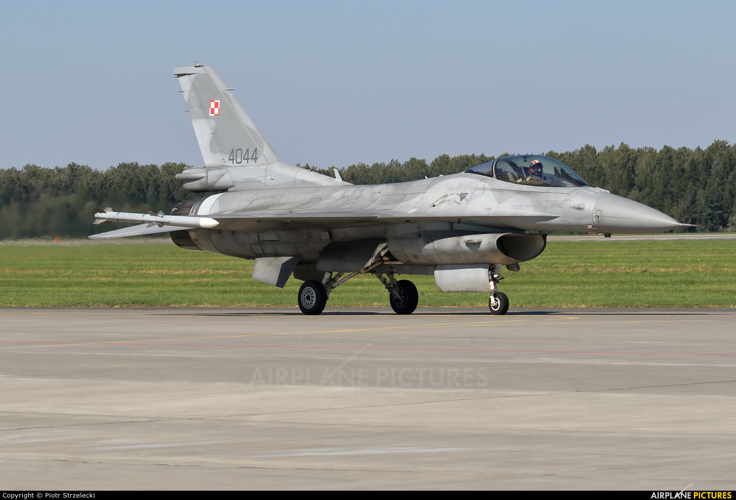 Poland - Air Force 4044 aircraft at Poznań - Krzesiny