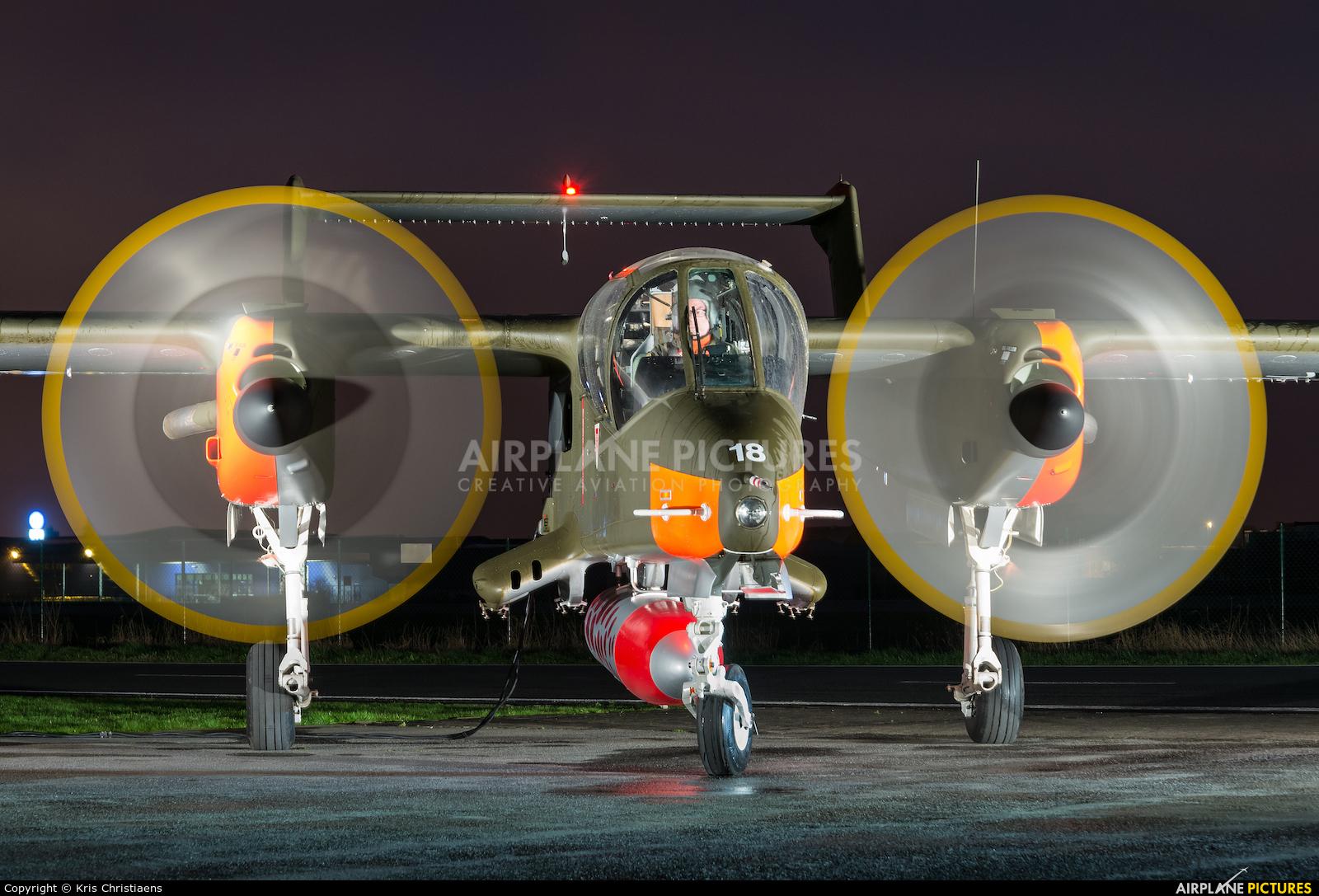 Bronco Demo Team G-ONAA aircraft at Kortrijk-Wevelgem