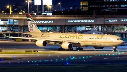 A6-EHI - Etihad Airways Airbus A340-600