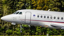 L1-01 - Slovenia - Government Dassault Falcon 2000 DX, EX aircraft