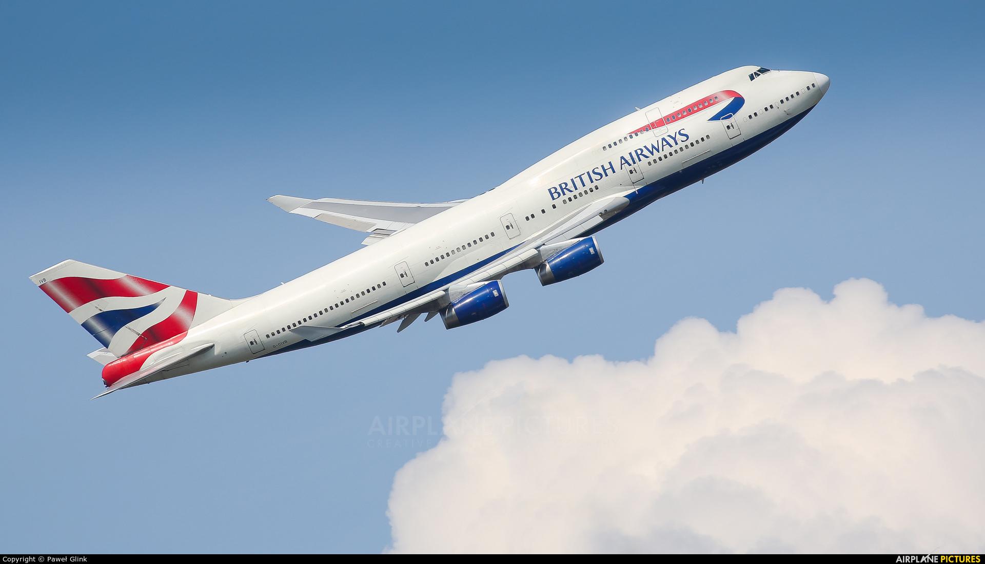 British Airways G-CIVB aircraft at London - Heathrow