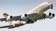 A6-APG - Etihad Airways Airbus A380 aircraft