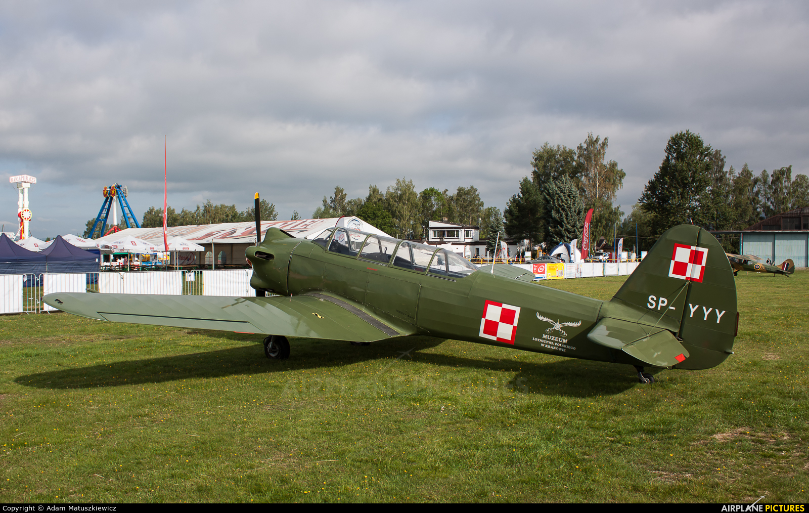 Polish Eagles Foundation SP-YYY aircraft at Nowy Targ