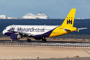 G-OZBW - Monarch Airlines Airbus A320 aircraft