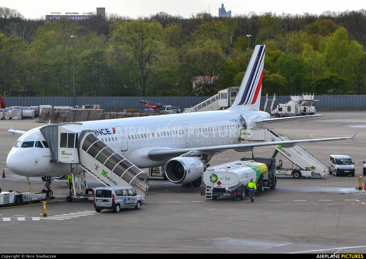 Air France F-GTAY aircraft at Berlin - Tegel