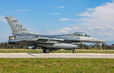 244 - USA - Air Force Lockheed Martin F-16C Fighting Falcon
