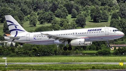 SX-DVI - Aegean Airlines Airbus A320