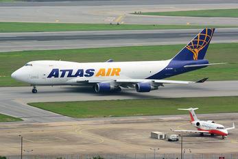 N493MC - Atlas Air Boeing 747-400F, ERF