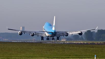 PH-BFT - KLM Boeing 747-400