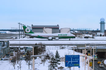 B-16411 - Eva Air - Airport Overview - Runway, Taxiway