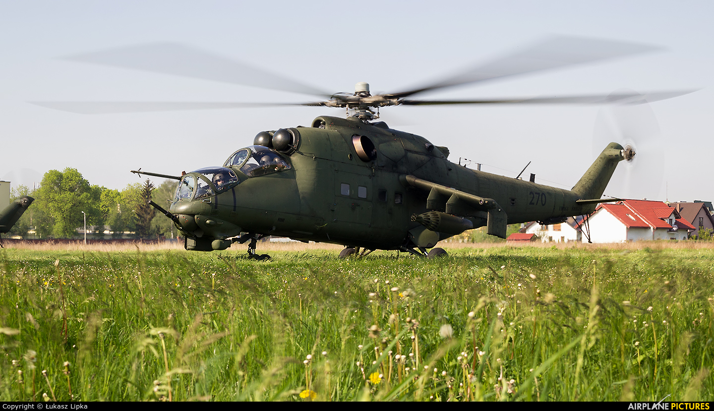 Poland - Army 270 aircraft at Inowrocław